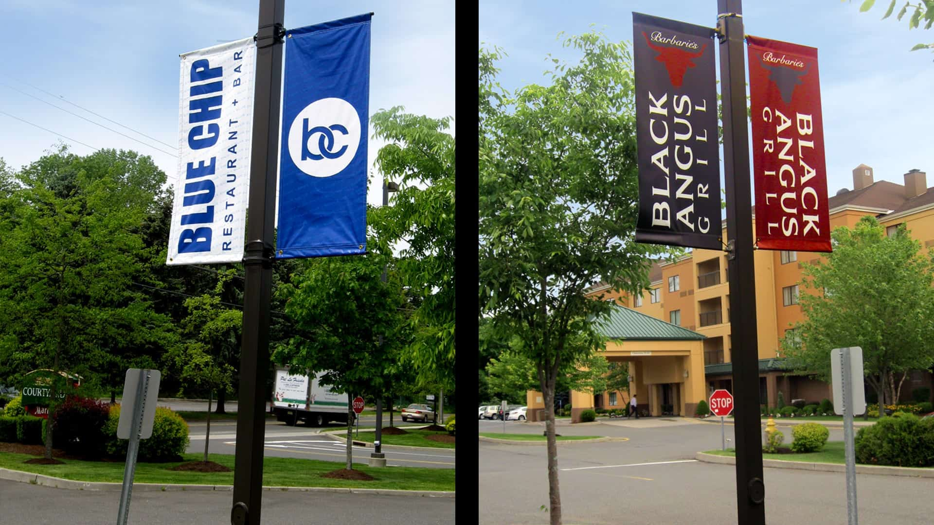 Banners & Posters - Blue Chip Boulevard