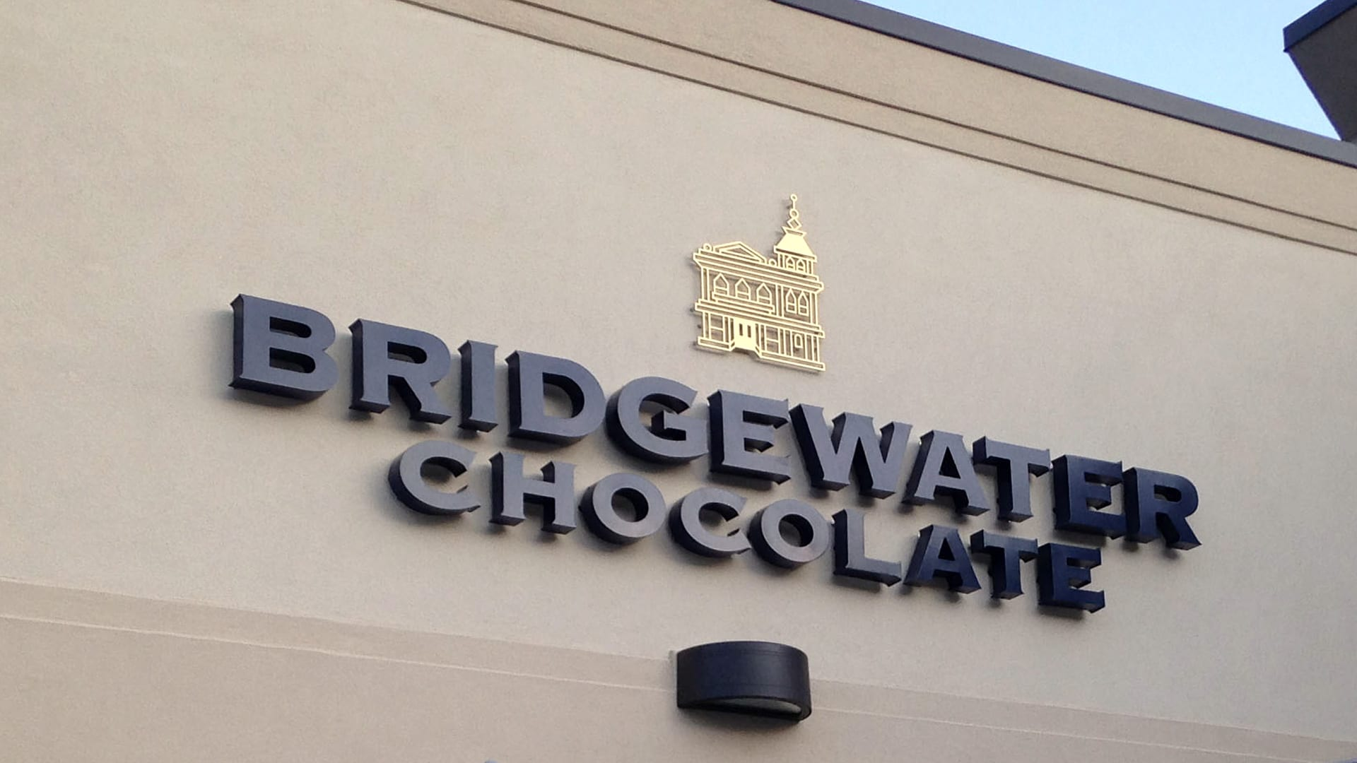 Dimensional Letters - Bridgewater Chocolate