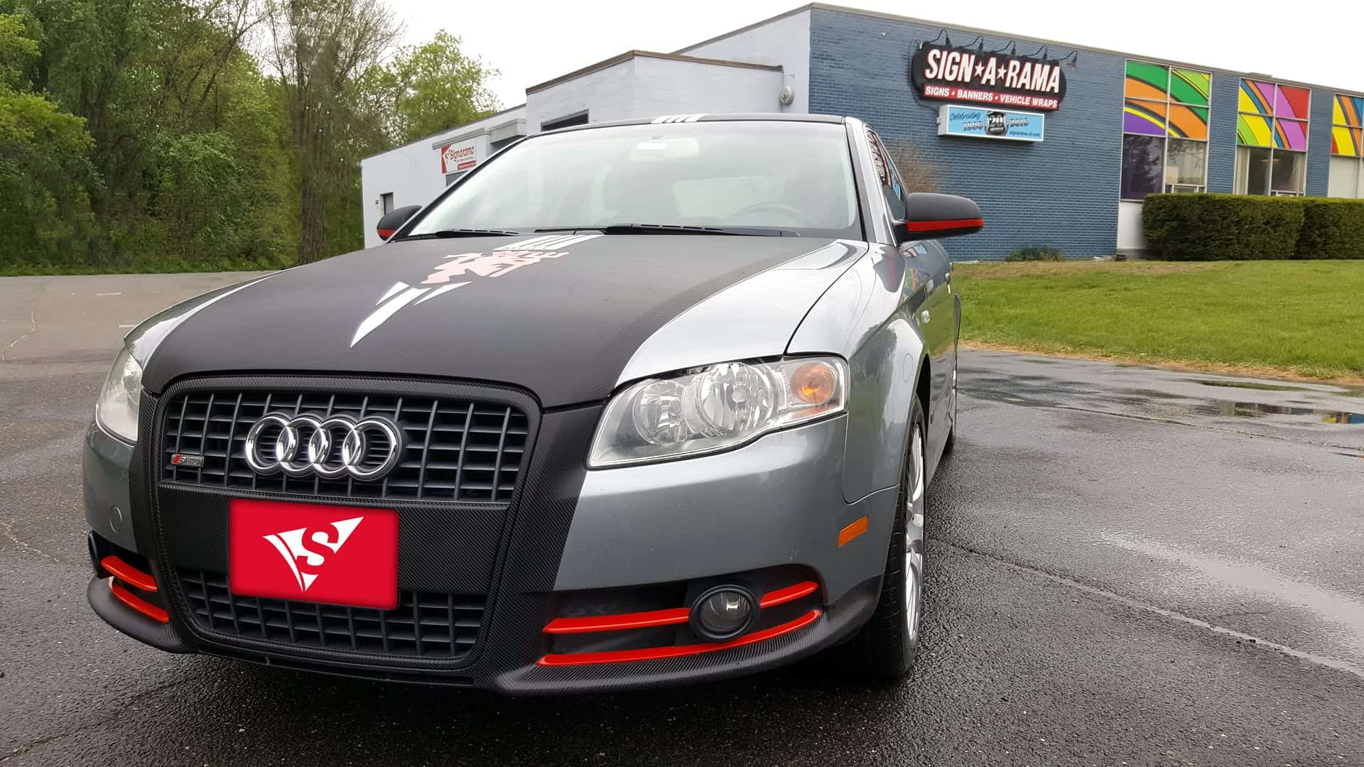 manchester united, A4, Audi, car signs