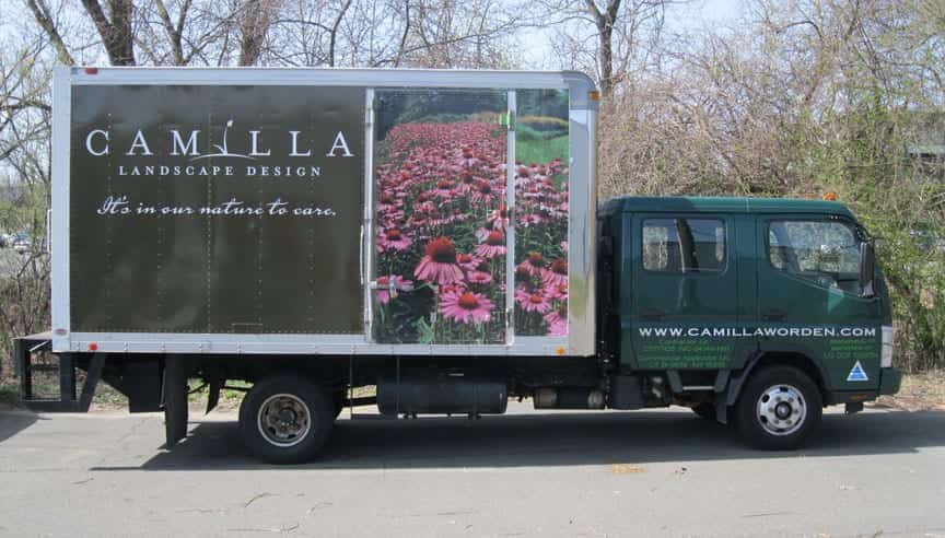 Camilla Box truck Wrap - Full vehicle wrap