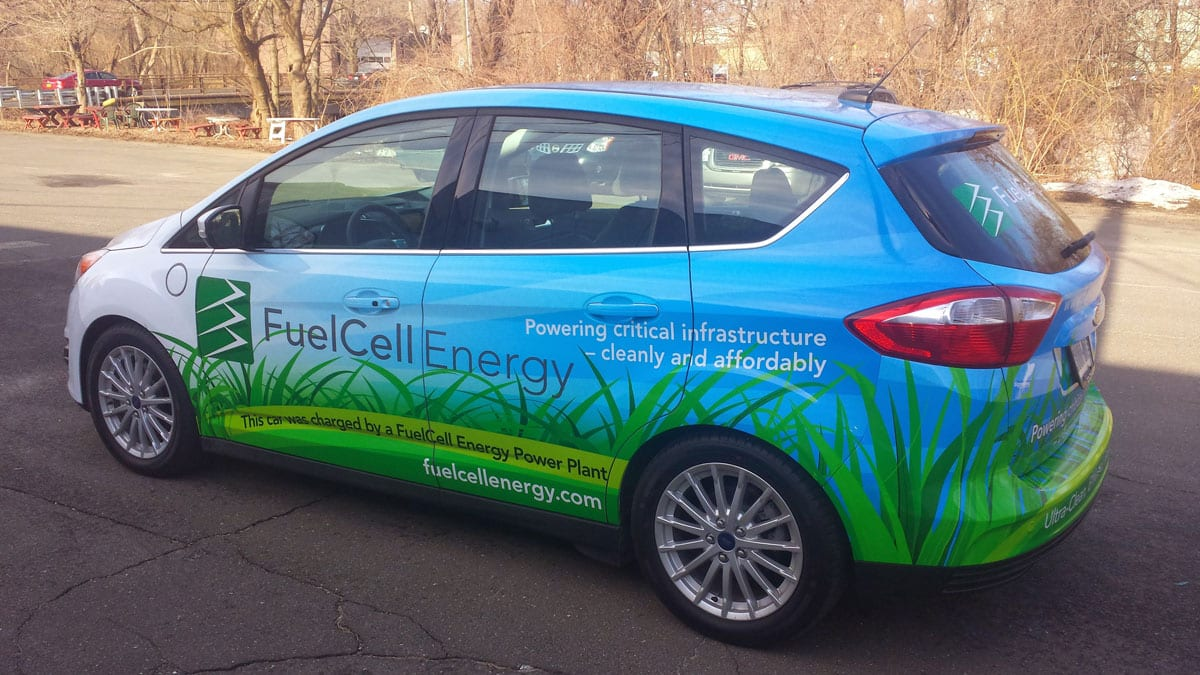 Fuel Cell Energy - Car Wraps