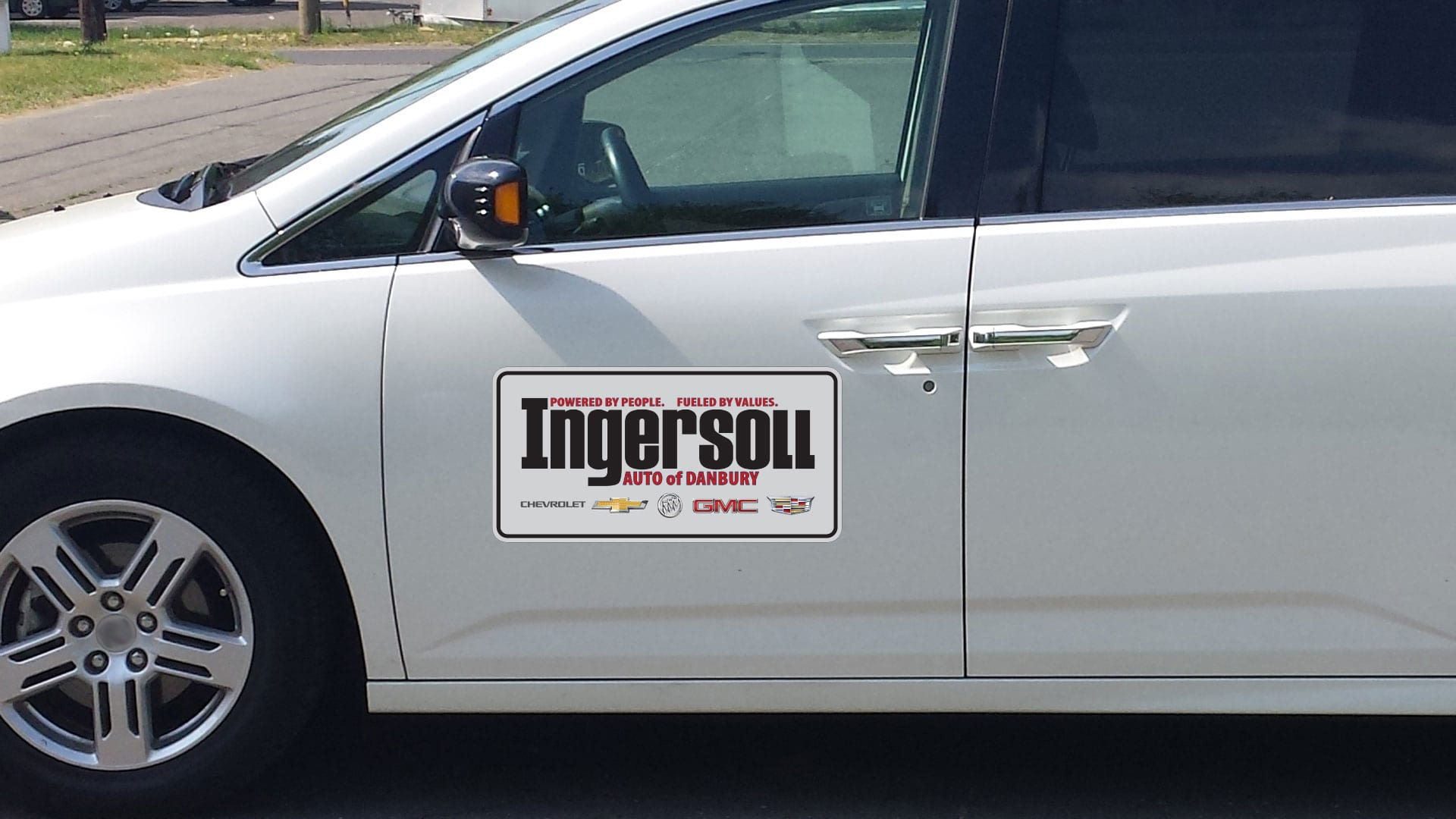 Custom car magnet for Ingersoll