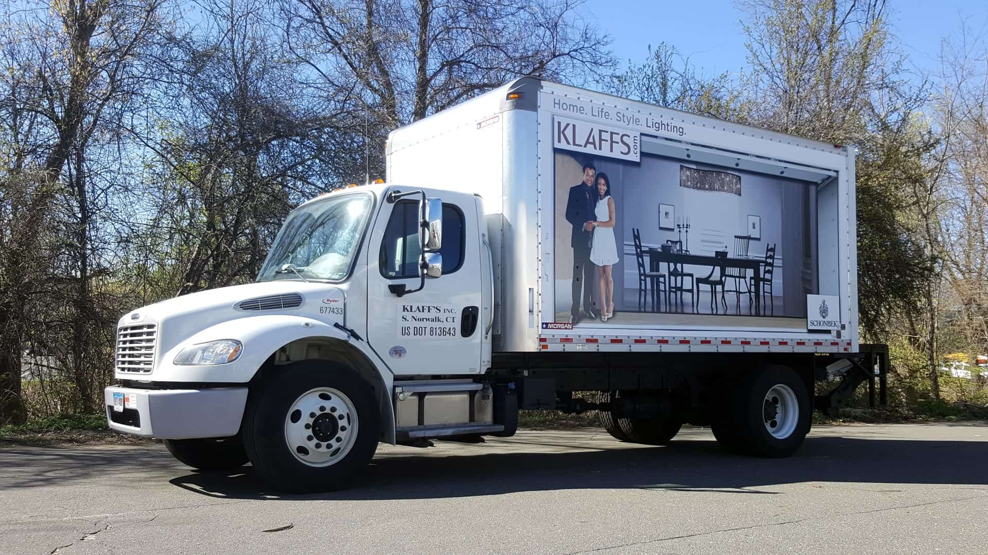 Box Truck Wrap for Klaffs