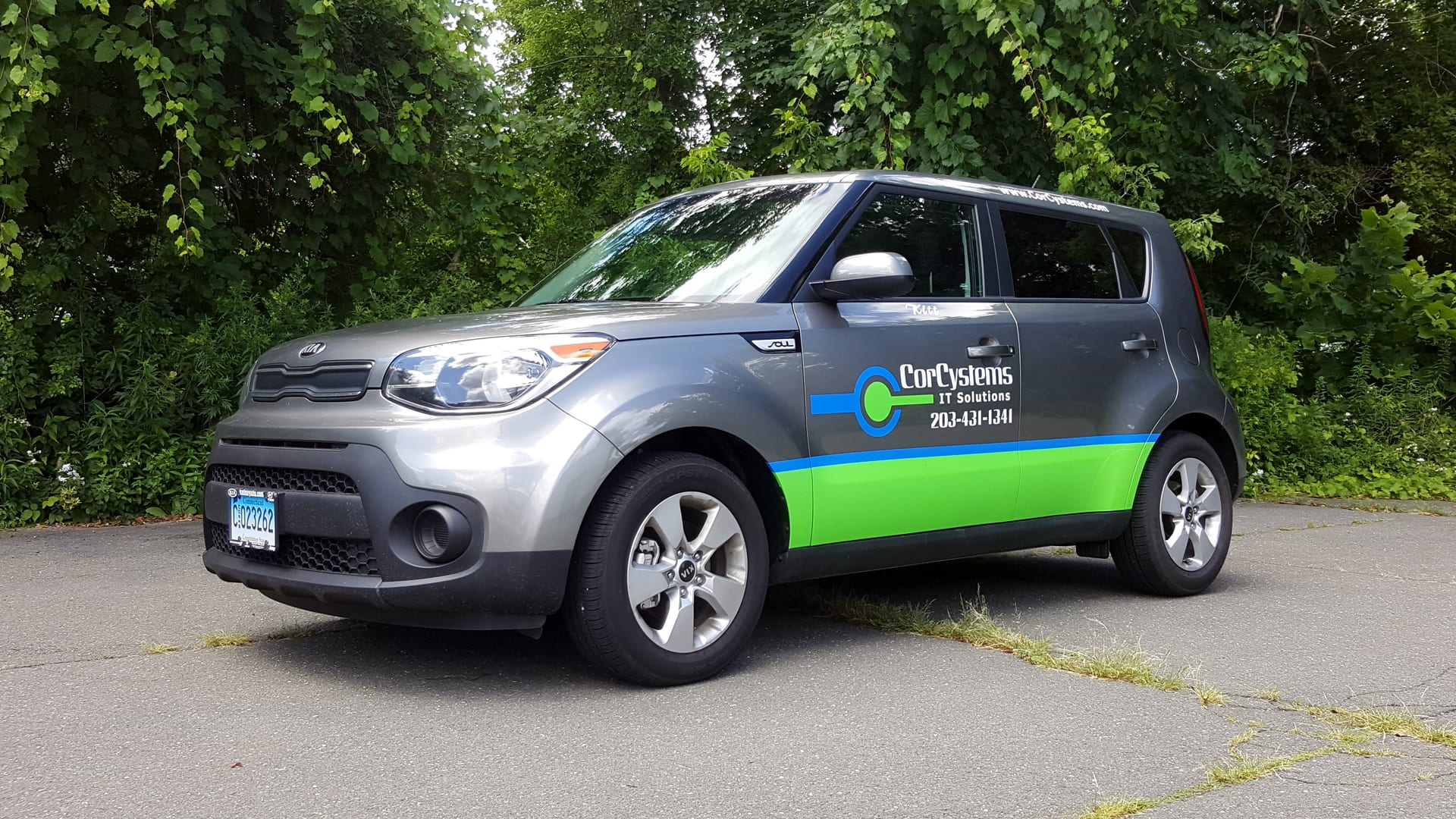 CorCystems Vehicle wrap - Vinyl Lettering