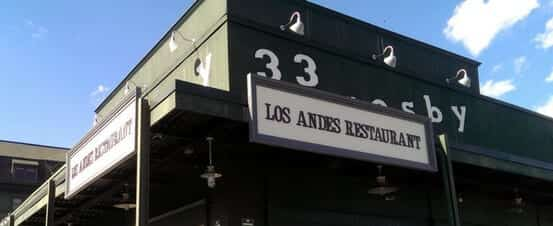 Los Andes Restaurant - Acrylic and Plastic Dimensional Sign