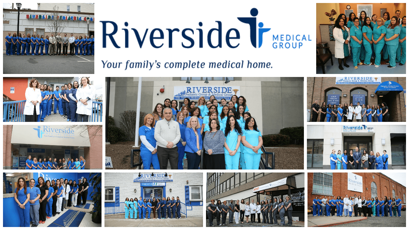 Riverside Medical Group group photo collage