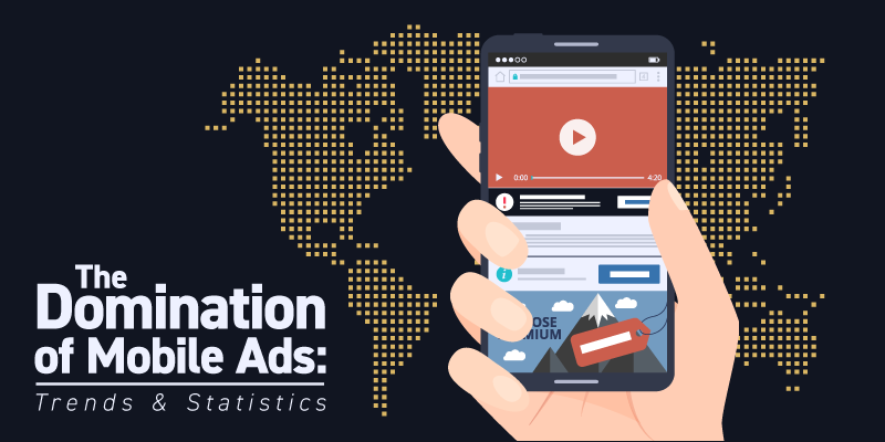 The Domination of Mobile Ads Statistics and Trends Banner