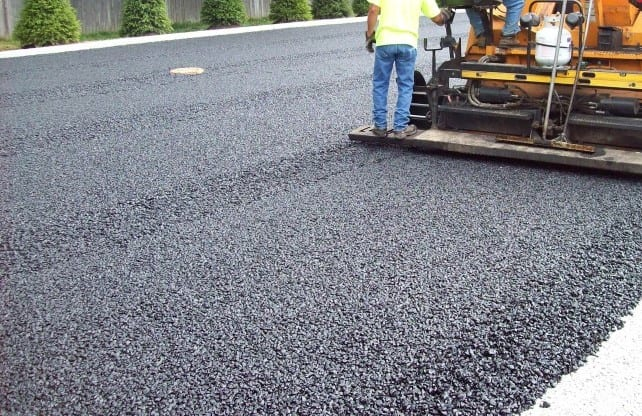 newly paved road CT