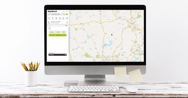 mapquest on computer